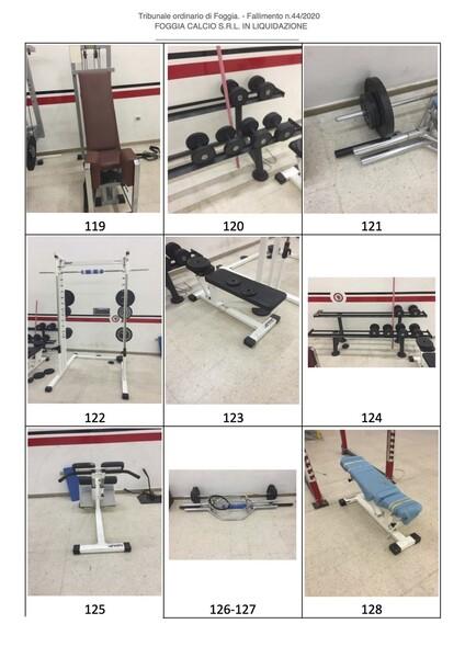 1#6043 Arredi e attrezzature per squadre calcistiche in vendita - foto 259