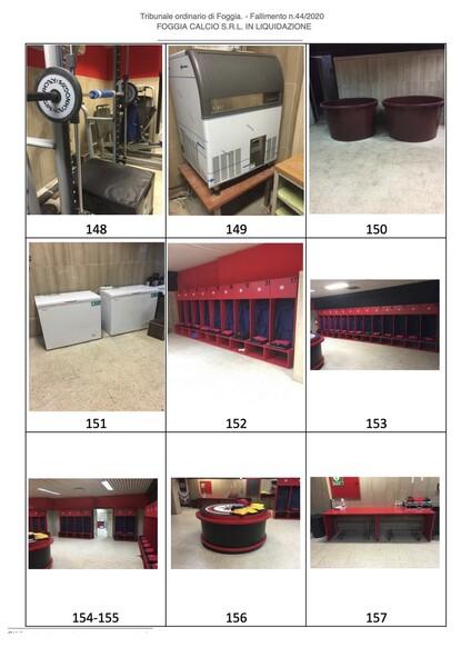 1#6043 Arredi e attrezzature per squadre calcistiche in vendita - foto 262