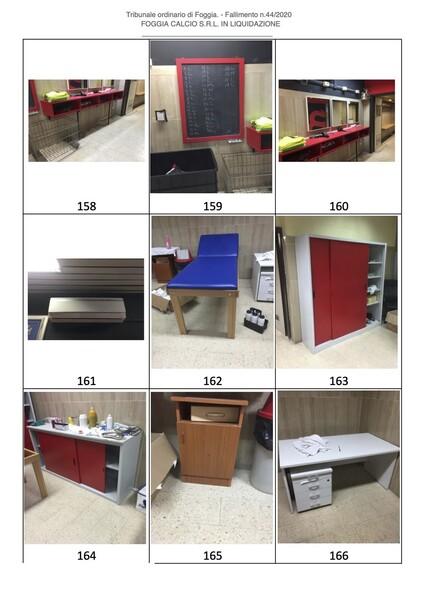 1#6043 Arredi e attrezzature per squadre calcistiche in vendita - foto 263
