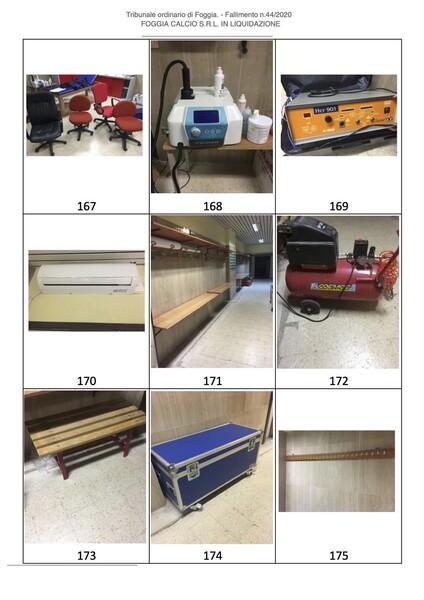 1#6043 Arredi e attrezzature per squadre calcistiche in vendita - foto 265