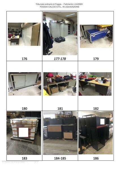 1#6043 Arredi e attrezzature per squadre calcistiche in vendita - foto 266