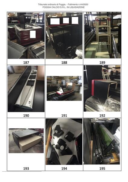 1#6043 Arredi e attrezzature per squadre calcistiche in vendita - foto 267