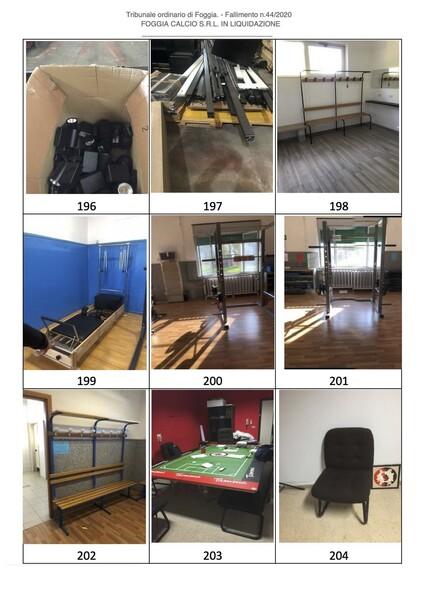 1#6043 Arredi e attrezzature per squadre calcistiche in vendita - foto 268