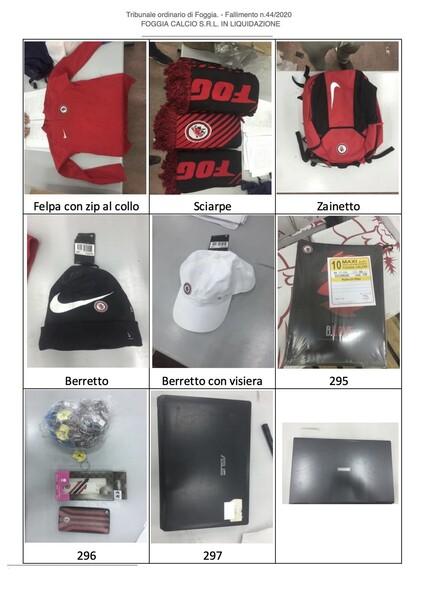 1#6043 Arredi e attrezzature per squadre calcistiche in vendita - foto 271