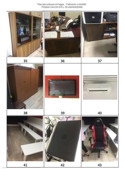 1#6043 Arredi e attrezzature per squadre calcistiche in vendita - foto 275