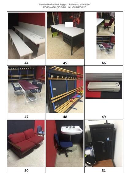 1#6043 Arredi e attrezzature per squadre calcistiche in vendita - foto 276