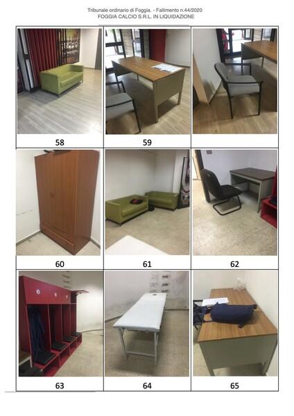 1#6043 Arredi e attrezzature per squadre calcistiche in vendita - foto 278