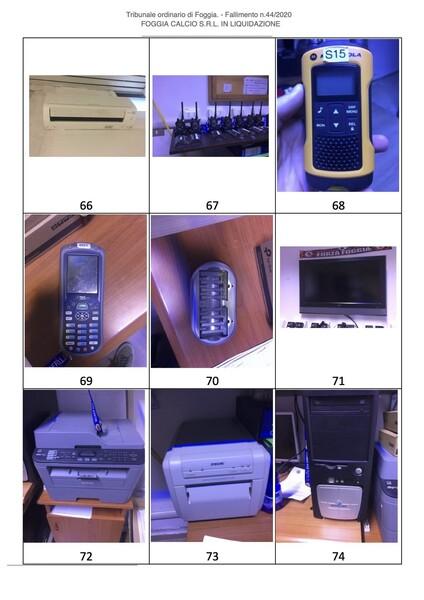 1#6043 Arredi e attrezzature per squadre calcistiche in vendita - foto 279