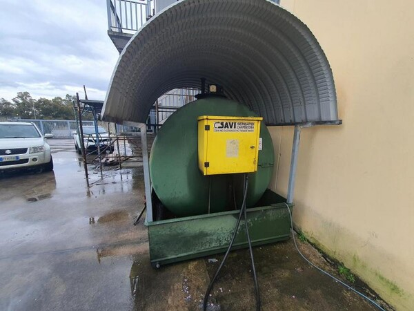14#6048 Serbatoio carburante Savi per carrelli elevatori in vendita - foto 1