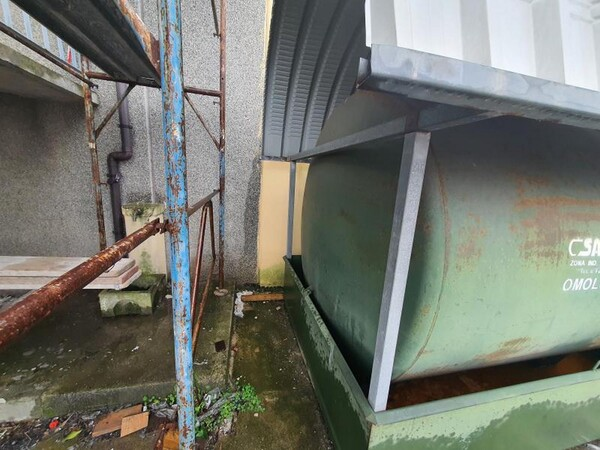 14#6048 Serbatoio carburante Savi per carrelli elevatori in vendita - foto 3