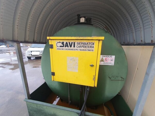 14#6048 Serbatoio carburante Savi per carrelli elevatori in vendita - foto 5