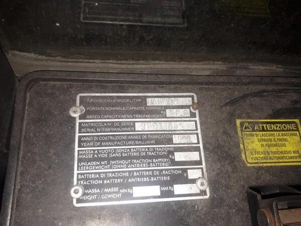 4#6048 Carrello elevatore Daewoo in vendita - foto 2