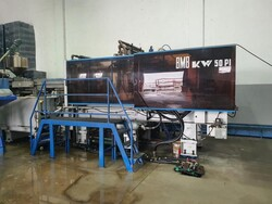 BMB KW50PI hydraulic press - Lot 7 (Auction 6048)
