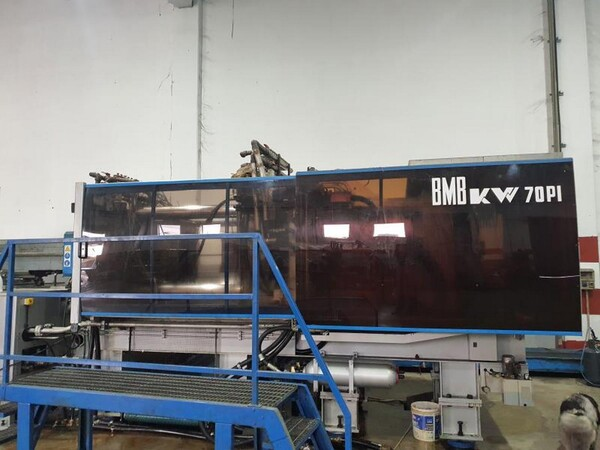 8#6048 Pressa oleodinamica BMB KW70PI in vendita - foto 1