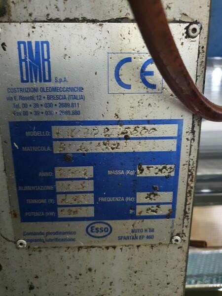 8#6048 Pressa oleodinamica BMB KW70PI in vendita - foto 8