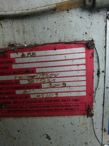 8#6048 Pressa oleodinamica BMB KW70PI in vendita - foto 9