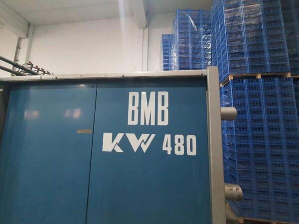 9#6048 Pressa oleodinamica BMB KW480 in vendita - foto 2