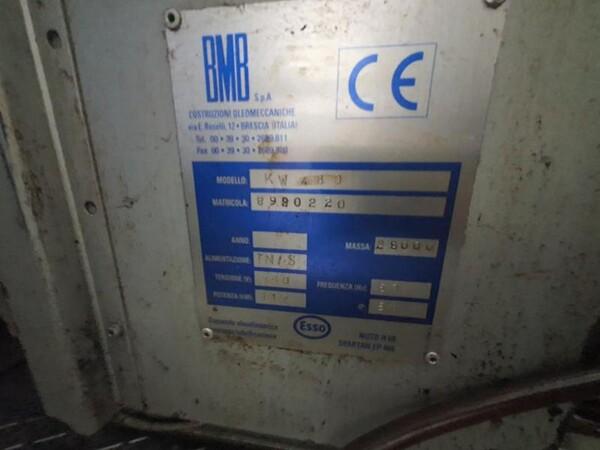 9#6048 Pressa oleodinamica BMB KW480 in vendita - foto 10
