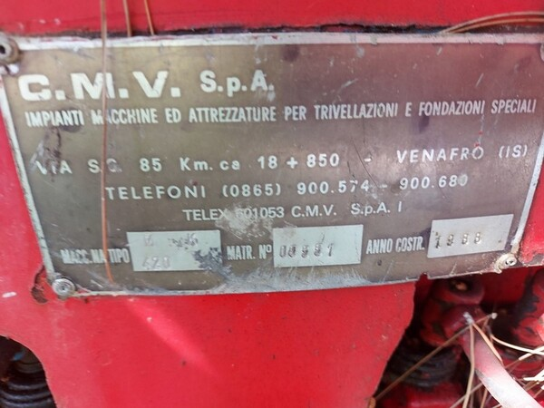 14#6053 Perforatrici Trivelsonda e CMV in vendita - foto 2