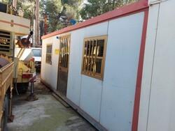 Container uso ufficio e Idropulitrice a caldo Karcher - Lotto 25 (Asta 6053)
