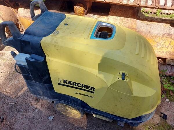 25#6053 Container uso ufficio e Idropulitrice a caldo Karcher in vendita - foto 5