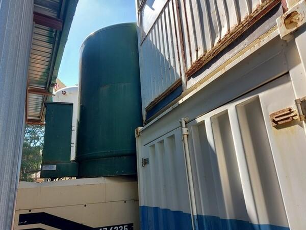 25#6053 Container uso ufficio e Idropulitrice a caldo Karcher in vendita - foto 9