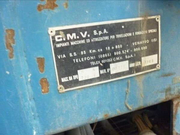 8#6053 Perforatrice CMW in vendita - foto 2