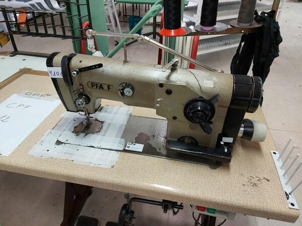 103#6059 Macchine lineari Juki e Pfaff in vendita - foto 12