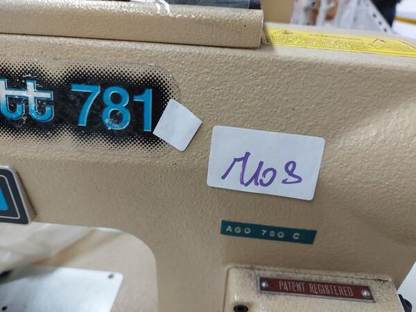 103#6059 Macchine lineari Juki e Pfaff in vendita - foto 17