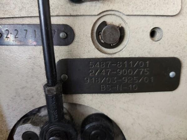 133#6059 Macchina imbastitrice Pfaff e piano da stiro Macpi in vendita - foto 14