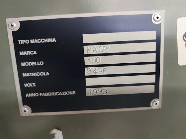133#6059 Macchina imbastitrice Pfaff e piano da stiro Macpi in vendita - foto 18