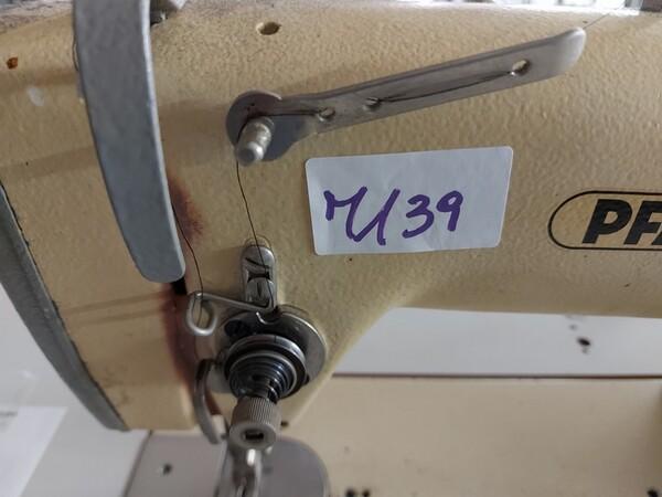 133#6059 Macchina imbastitrice Pfaff e piano da stiro Macpi in vendita - foto 25