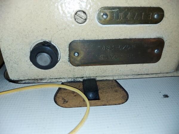 133#6059 Macchina imbastitrice Pfaff e piano da stiro Macpi in vendita - foto 27