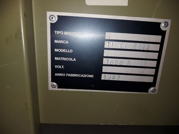 141#6059 Macchini lineari Juki DDL-9000DS e piano da stiro Ticiesse in vendita - foto 8