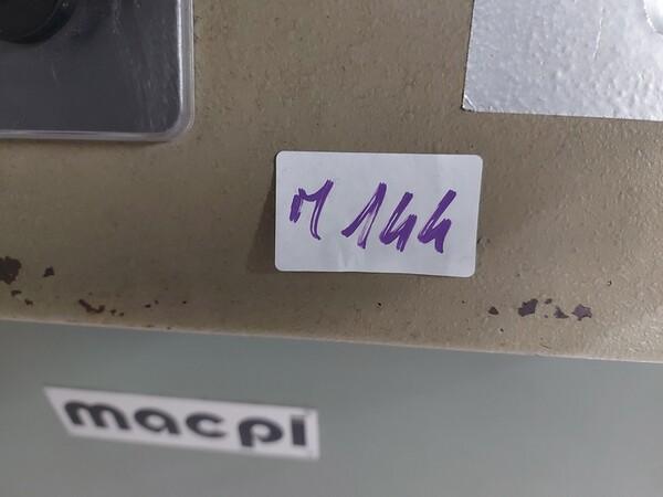 141#6059 Macchini lineari Juki DDL-9000DS e piano da stiro Ticiesse in vendita - foto 13