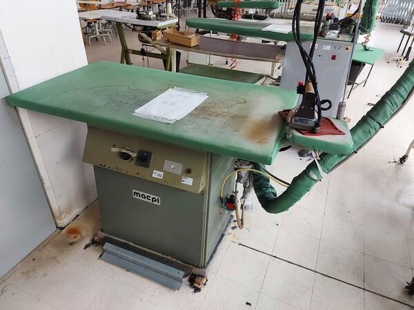 141#6059 Macchini lineari Juki DDL-9000DS e piano da stiro Ticiesse in vendita - foto 14