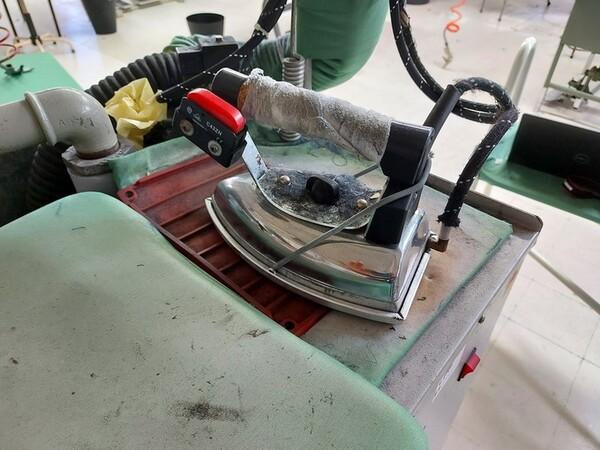 141#6059 Macchini lineari Juki DDL-9000DS e piano da stiro Ticiesse in vendita - foto 20