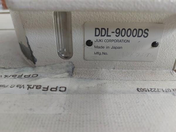 141#6059 Macchini lineari Juki DDL-9000DS e piano da stiro Ticiesse in vendita - foto 24
