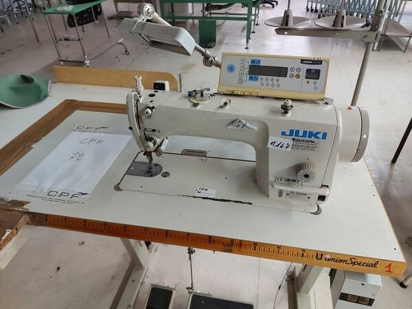141#6059 Macchini lineari Juki DDL-9000DS e piano da stiro Ticiesse in vendita - foto 26