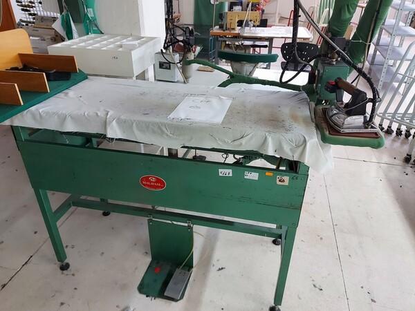 141#6059 Macchini lineari Juki DDL-9000DS e piano da stiro Ticiesse in vendita - foto 29