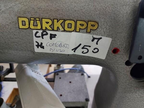 150#6059 Macchina attaccaspalline Durkopp e e tagliacuci Rimoldi in vendita - foto 2