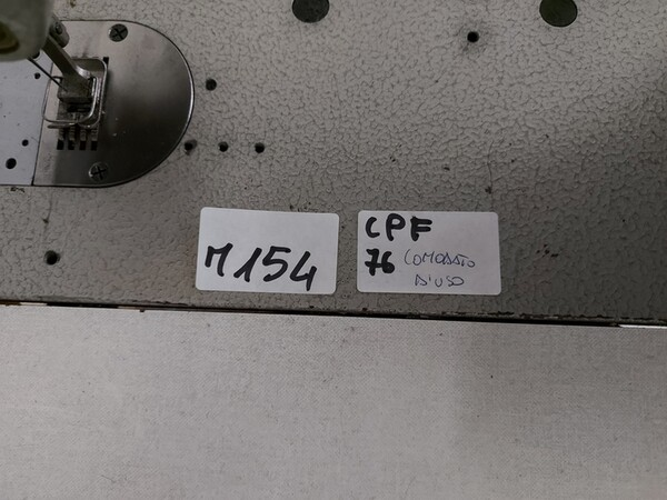 150#6059 Macchina attaccaspalline Durkopp e e tagliacuci Rimoldi in vendita - foto 17