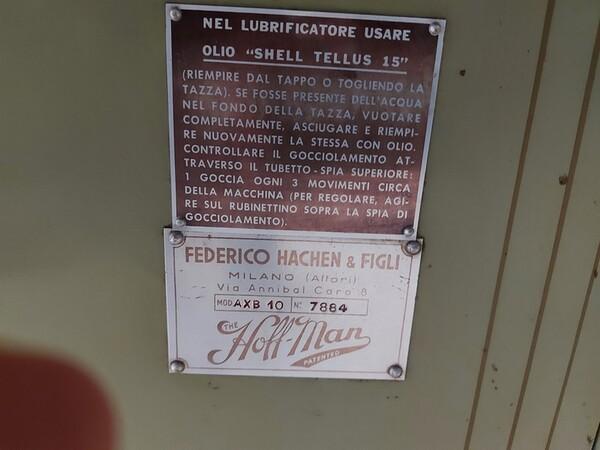 163#6059 Presse da stiro e macchina attaccabottoni Union Special Lewis in vendita - foto 9