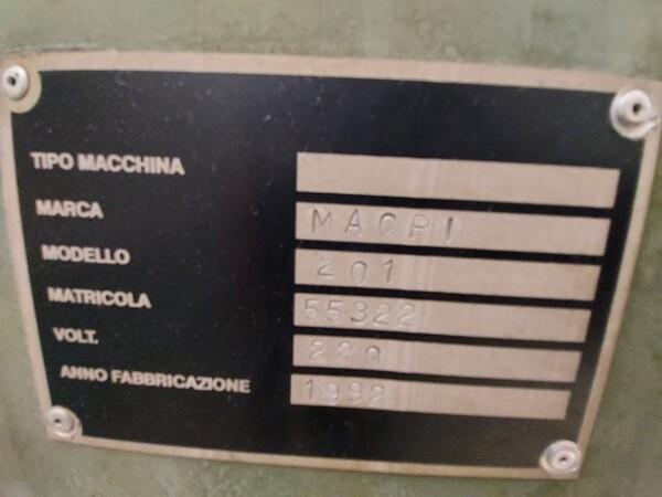 163#6059 Presse da stiro e macchina attaccabottoni Union Special Lewis in vendita - foto 19