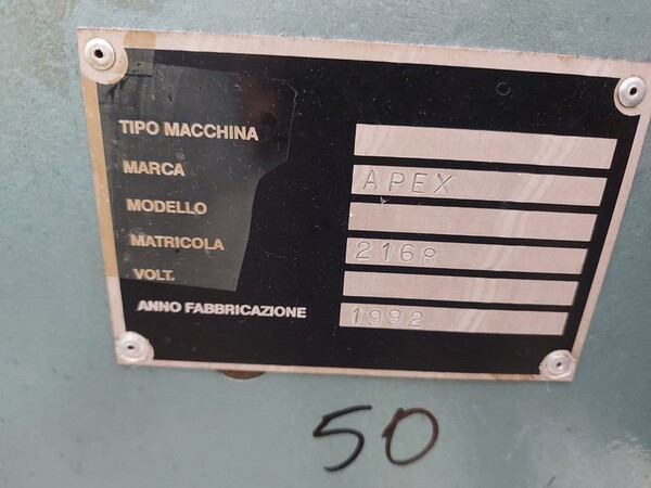 163#6059 Presse da stiro e macchina attaccabottoni Union Special Lewis in vendita - foto 25