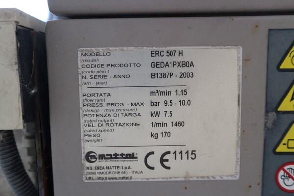 203#6059 Compressore Mattei e accessori in vendita - foto 10