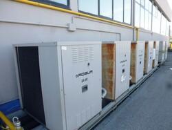 Impianto di trattamento aria e caldaia Garioni - Lotto 206 (Asta 6059)