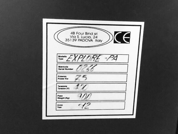 1#6060 Brossuratrice Four Bind in vendita - foto 6