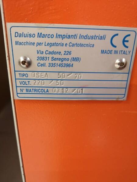 2#6060 Copertinatrice Daluiso Impianti Industriali in vendita - foto 4