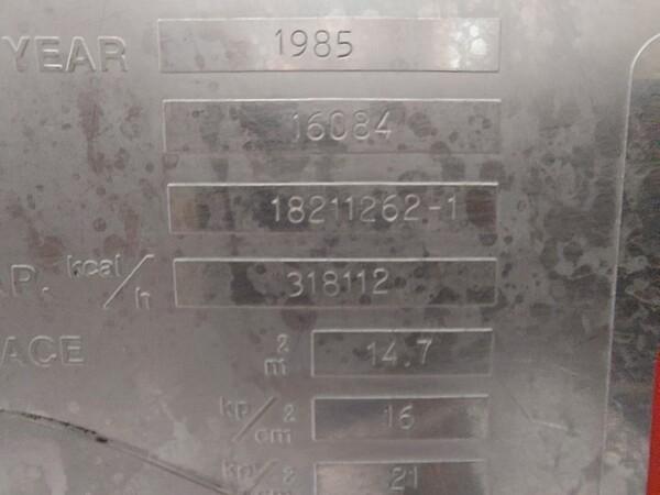 1#6067 Marchiatrice Nimax e serbatoi in vendita - foto 30